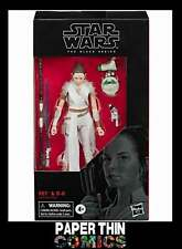 STAR WARS 6IN E9 BLACK SERIES REY & D-O AF HASBRO