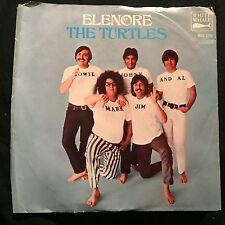 Turtles Elenore / Surfer Dan w/ Picture Sleeve White Whale 1968