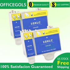 4 Pack 10XL High Yield Ink Cartridge For Kodak ESP 3 5 7 9 5210 7250 3250 5250