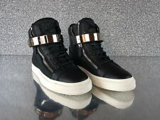 Giuseppe Zanotti High Top Sneaker Black Silver Gr. 50