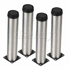 4pcs 250mm Height Metal Furniture Legs Adjustable Cabinet Sofa Table Bed Feet