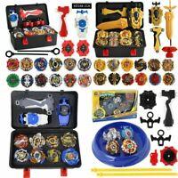 8/12 x Beyblade Burst Starter Kit 4D Bayblade Spielzeug Geschenk + Launcher+Box