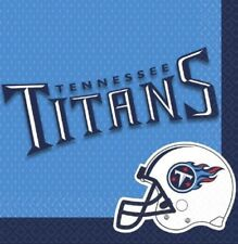 """One Package Of 36 Tennessee Titans Nfl football  12 7/8"""" Napkins by DesignWare"""
