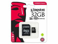 Kingston Micro SD 32GB SDHC Memory Card Mobile Phone Class 10 With SD ADAPTER UK