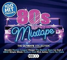 80'S MIXTAPE THE ULTIMATE COLLECTION 5 CD SET (100 Hit Tracks) (Release 2017)