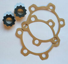 Bearmach Land Rover Series 2a & 3 Felt Oil Seal & Axle Flange Gaskets x2 BR0667+