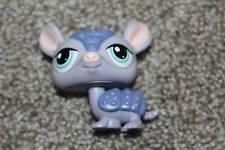 Littlest Pet Shop Purple Armadillo #1454 Blue Eyes LPS Girls Toy Hasbro 2008 Fun