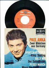 "7"" - PAUL ANKA-due ragazze del Germany-SR 41322-De 1965"