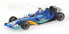 Sauber Petronas C24 J. Villeneuve 2005 1:43 Model 400050011 MINICHAMPS