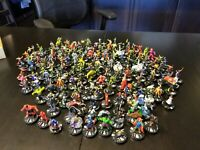 Marvel Heroclix Random Lot of 100 Characters! All Characters Have Cards!