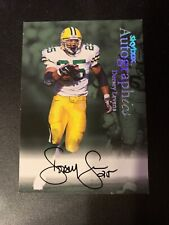 1999 SKYBOX AUTOGRAPHICS ~ DORSEY LEVENS ~ AUTOGRAPH CARD  GREEN BAY PACKERS