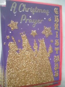 A CHRISTMAS PRAYER Happy Christmas (The Three Wise Men) Card