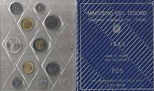 ITALIA: 1985, SERIE DIVISIONALE FDC, 10 VALORI CON LIRE 500 D'ARGENTO MANZONI