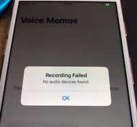 iPhone 7 Audio IC Repair Service Recording Failed No Audio Device Longboot FAST