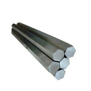 MILD STEEL HEXAGON BAR/ROD - Grade EN1A - (5mm-50mm) diameters  - many lengths