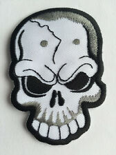 SKULL TRIBAL REAPER Embroidered Sew/Iron On Patch Patches UK Seller