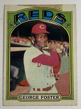 1972 Topps Baseball Card GEORGE FOSTER Cincinnati Reds #256