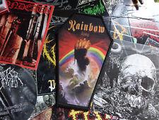 Rainbow Coffin Patch Heavy Metal Hardrock