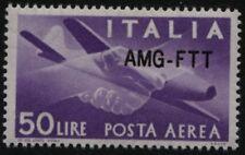 AMG-FTT - 1954 - Posta Aerea Lire 50 - nuova soprastampa - Sassone n.22A - MNH