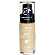 Revlon ColorStay Foundation Comb/Oily Skin Oil Free 300 Golden Beige SPF15 NEW