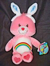 "Vintage Care Bear 8"" Easter Cheer Bear * with Bunny ears * Nwt Rare * Retired"