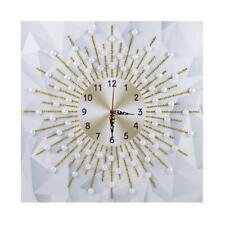 DIY Special Shaped Diamond Painting Sun Shine Wall Clock Crafts Art Decor #G