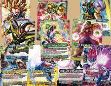 Dragon Ball Super Trading Card Game - Colossal Warfare - All 10 Leaders Bundle