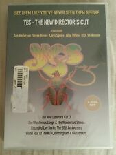 Yes - The Directors Cut DVD NEW Chris Squire, Steve Howe, Rick Wakeman. 2 disc