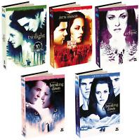 TWILIGHT LA COLLEZIONE COMPLETA 5 FILM (10 DVD) EDIZIONE DIGIBOOK LIMITATA