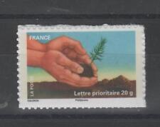 France - autoadhésif n° 526 neuf - Plantation d'un jeune plant d'arbre