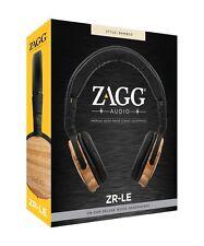 ZAGG Audio ZR-LE Premium Wood Headphones - Bamboo