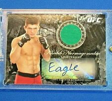 "UFC TOPPS *KHABIB NURMAGOMEDOV* 2014 *Debut* Nickname ""EAGLE"" AUTO RELIC (/#175)"