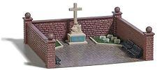 Busch 1094 HO Kit soldats cimetière avec Guerrier monument #neu en OVP #