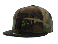 New Era 59Fifty Sorry I'm Fresh and You're Not Fitted Cap Hat $35 Sz 6 7/8 Camo