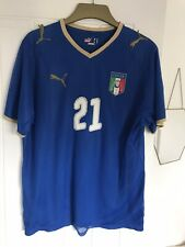 Puma Italy Italia 2008 Football Soccer Shirt Jersey Maglia Pirlo 21