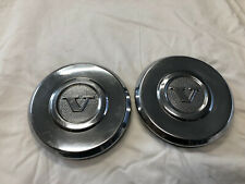 1974-1979 Volvo 240 Oem Hubcaps (Two)
