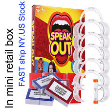 2017 Speak Out Funny Mouthpiece Board Challenge Mouthguard Easter Party GAME US