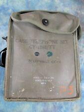 US Military Case Telephone Set CY-1181/TT Field Phone EE8 Telephone