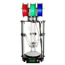 Geeetech Desktop 3D Printer Delta Rostock 301 Triple Color Mix Color DIY Kit