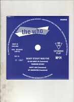THE WHO Ready Steady Who #5 EP w/PS 60s MOD FREAKBEAT