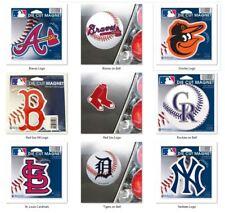 MLB Team Die Cut Logo 4 inch Auto Magnet by WinCraft -Select- Team Below