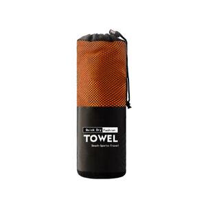 Microfiber Towel Sports Bath Gym Quick Drying Travel Swimming Camping Beach CW