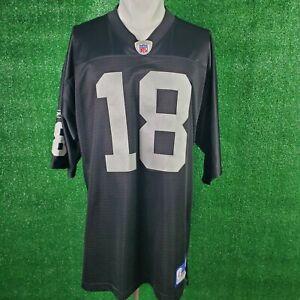 Randy Moss Reebok Oakland Raiders Jersey (Size XLarge)