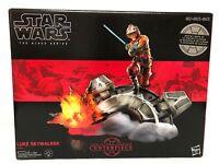 Star Wars The Black Series Centerpiece Luke Skywalker Light Up Statue NIB 3 AAA