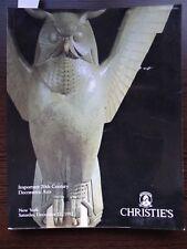 Catalogue Christie's ART DECO 20TH CENTURY DESIGN Silver Tiffany verrerie Glass