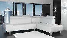 Couch Garnitur Ecksofa Sofagarnitur Sofa REENO w Wohnlandschaft KURZZEIT ANGEBOT