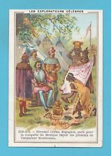 FRENCH  ADVERTISING  -  LA  PATE  FLAMANDE  -   ADVERTISING  CARD    ( A )