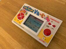 Rare Superb! Namco Pac Land 1984 Vintage LCD Handheld Electronic Game - Dark LCD