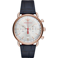 NEW EMPORIO ARMANI AR11123 MENS ROSE GOLD WATCH - 2 YEARS WARRANTY - CERTIFICATE