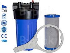 """Casa toda la casa filtro de agua flujo completo 10"""" Jumbo BB Azul Grande eliminación de cloro"""